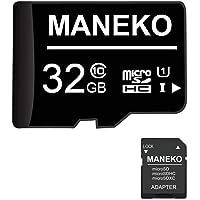 Scheda SD, 32 GB, scheda di memoria micro SDHC (scheda TF) + adattatore SD, classe 10, U1,