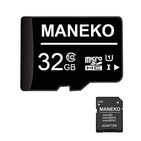 Tarjeta SD, 32 GB, Tarjeta de Memoria Micro SDHC (Tarjeta TF) + ...