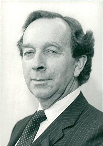 Vintage Photo Of Tony Barnes  Md Of Combined Lease Finance Plc