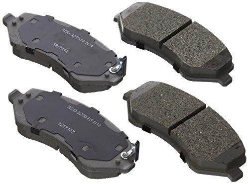 Voyager Brake (ACDelco 14D856CH Advantage Ceramic Front Disc Brake Pad Set)