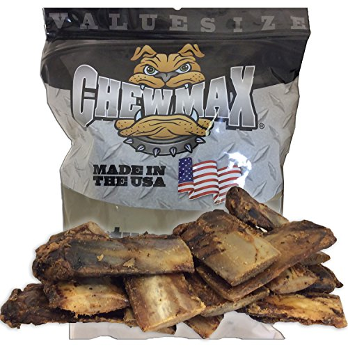ChewMax Roasted Rib Bones 2.5 Lbs of 100% Natural Roasted Rib Bones Made in the USA