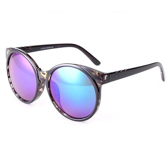 b5ceddd9a64b5 Z-P new retro style wayfarer round sunglasses UV400 58MM  Amazon.es  Ropa y  accesorios
