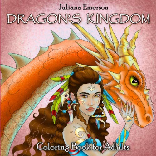 (Dragon's Kingdom Coloring Book for Adults (Mystic World))