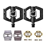 CRANKBROTHERs Crank Brothers Mallet Enduro Bike Pedals Pair (Choose Your Color) with Premium Cleats and Shoe Shields Set for Traction