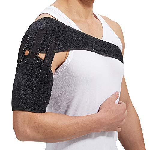 Shoulder Belt Support Arm Sling for Stroke Hemiplegia Subluxation Adjustable Right Left Single Pads Dislocation Recovery Rehabilitation Straps Shoulder Brace