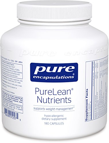 Pure Encapsulations - PureLean Nutrients - Hypoallergenic Supplement for Healthy Glucose metabolism and Weight Management* - 180 Capsules by Pure Encapsulations