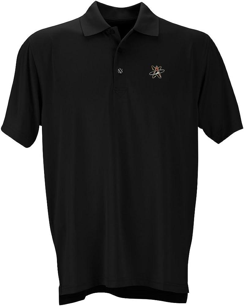Black Vantage Apparel Minor League Baseball Albuquerque Isotopes Mens Performance Mesh Polo Shirt 4X-Large