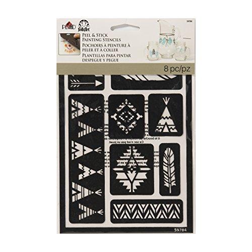 FolkArt 59784 Tribal Peel & Stick Stencil