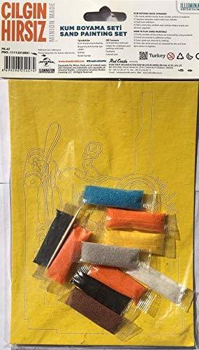 1 Adet Minions çılgın Hırsız Kum Boyama Seti Minyonlar Amazoncomtr