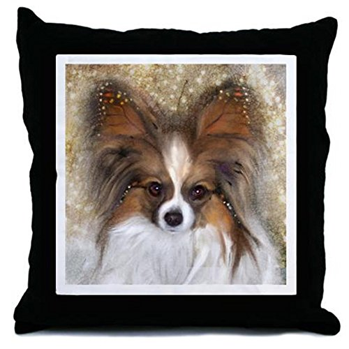 Ears Papillon - Decor Throw Pillow (18