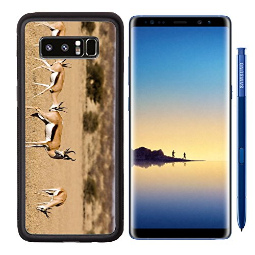 Reserve Kalahari Central Game (MSD Samsung Galaxy Note 8 Aluminum Backplate Bumper Snap Case IMAGE ID: 1575052 Springbok in Central Kalahari Game Reserve Botswana)