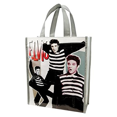 Vandor 47873 Elvis Presley Small Recycled Shopper Tote, Multicolored from Vandor