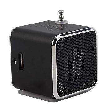 Woji Mini portátil estéreo Super Bass Speaker MP3 / 4 Reproductor ...