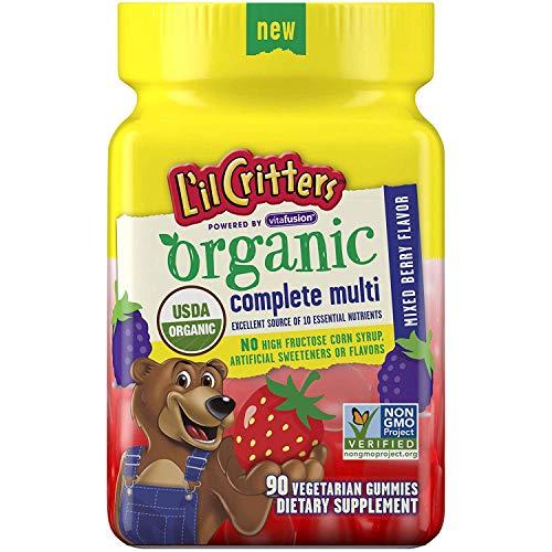 L'il Critters Organic Complete Multivitamin Gummies for Kids