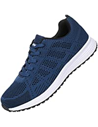 Mens Breathable Fashion Walking Sneakers Lightweight Athletic Tennis Running Shoes US6.5-11.5