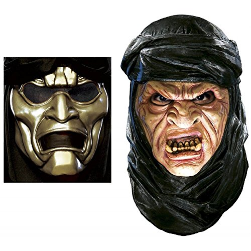 (Deluxe Immortal Latex Mask with Overmask Costume)
