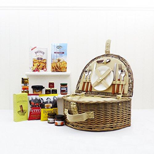 Westbury-2-Personen-Picknick-Korb-mit-Sommer-Auswahl-an-Speisen