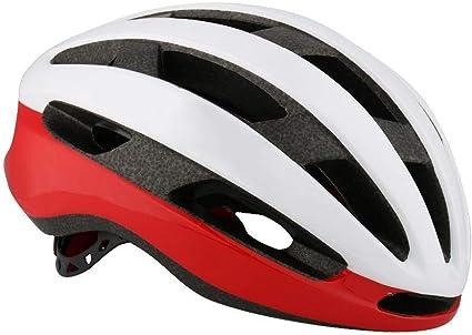 HELLOO HOME Profesional Casco Bicicleta Casco Ajustable para ...