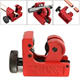 GOCHANGE Mini Tube Cutter Slice Copper Aluminum Tubing Pipe Cutting Tool 3-22mm 1/8inch-7/8inch OD