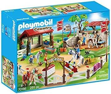 Amazon.com: Playmobil Country 70166 Cursos de equitación ...