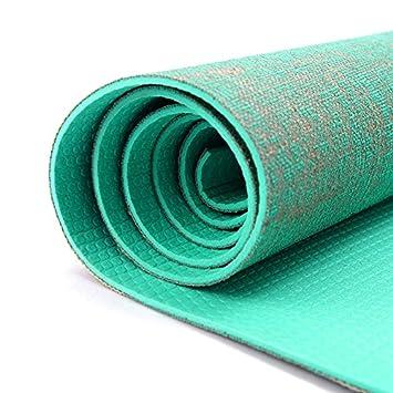 LILUO Manta de Yoga Ropa de Cama de PVC Verde Deportes ...