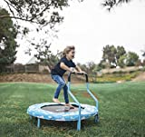SkyBound Mini Trampoline with Handle for Kids