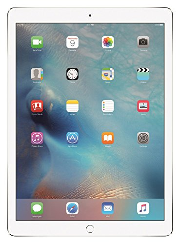 Apple iPad Pro 32GB 9.7in Wi-Fi + Cellular Unlocked GSM 4G LTE Tablet PC - White/Silver (Renewed) (Ipad 4 32gb Wifi White)