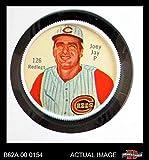1962 Salada Coins # 126 Joey Jay Cincinnati Reds (Baseball Card) Dean's Cards 6 - EX/MT Reds