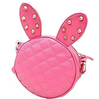 Bunny ears handbags change mobile phone bag red