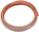 Homewerks CPG06050 3/8''/50' Plastic Coated Copper Coil, Orange