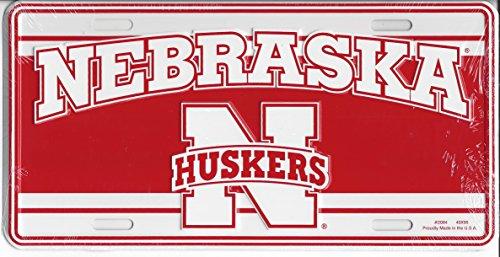 Nebraska Huskers License Plate
