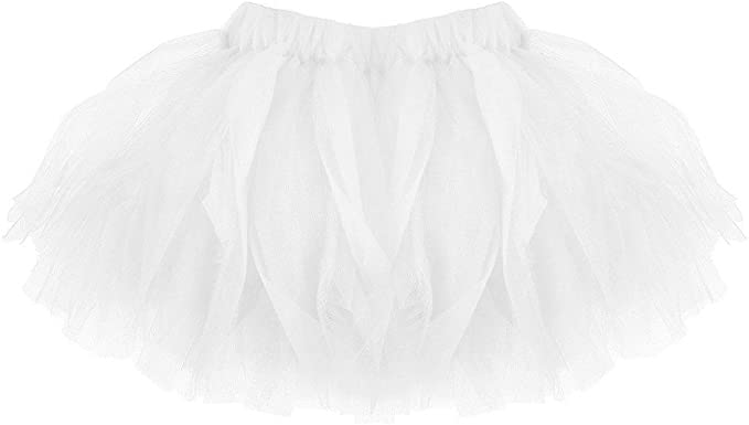 Xmiral Falda Tul con Capas para Ballet Baile Tutu Bebe Niña Skirt ...