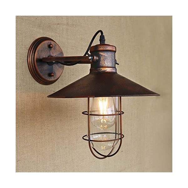 Retro Vintage Style Antique Metal Copper Nautical Wall Sconce Wall ...