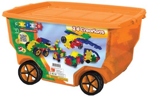 Clics 400 piece Wheeled Bin, Baby & Kids Zone