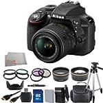 Nikon D3300 Digital SLR Camera with 1...