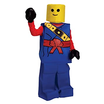 Dress up America Disfraz de Block Ninja Lego Halloween, para niños ...