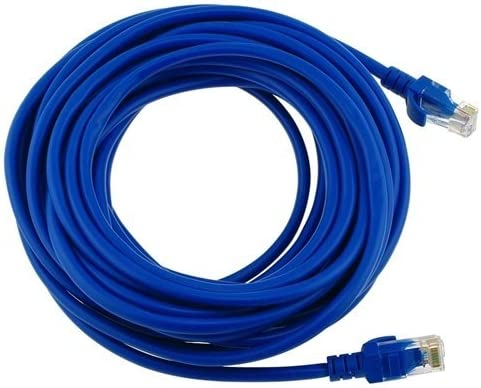 15 Ft White Male to Male Connectors for Base-T Networks 15 Feet iMBAPrice Ethernet Cable CAT5e