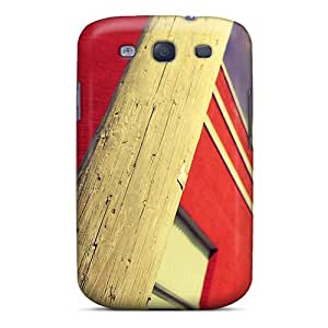 Hard Plastic Galaxy S3 Case Back Cover,hot Redbuilding Case At Perfect Diy