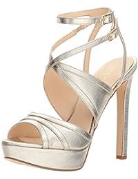 90be3b06b165 Women s Valeska Synthetic Heeled Sandal · Nine West