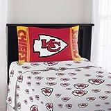 """NFL Kansas City Chiefs """"Mascot"""" Twin Sheet Set"""