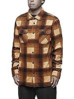 thirtytwo Reststop Polar Fleece Shirt, Tan, Small