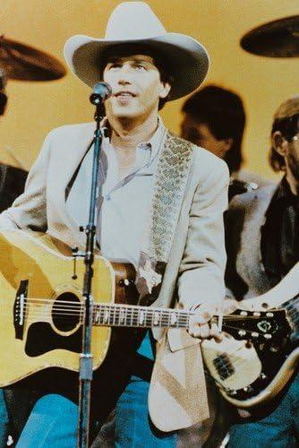 George Strait Guitar Poster 24x36