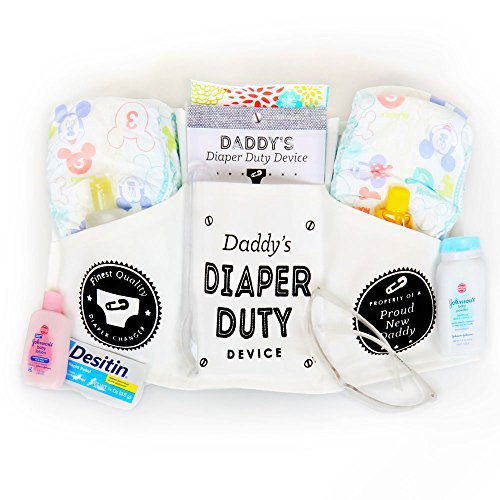 Daddy's Diaper Duty Device – Funny New Baby Gifts for Dad