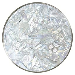 Clear Iridescent Mosaic Frit - 96COE - 4oz - Made from System 96 Glass
