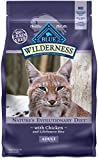 Blue Buffalo Wilderness High Protein Grain Free, Natural Adult Dry Cat Food, Chicken 6-lb Larger Image