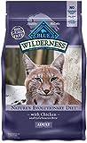 BLUE Wilderness Adult Grain-Free Chicken Dry Cat Food 6-lb