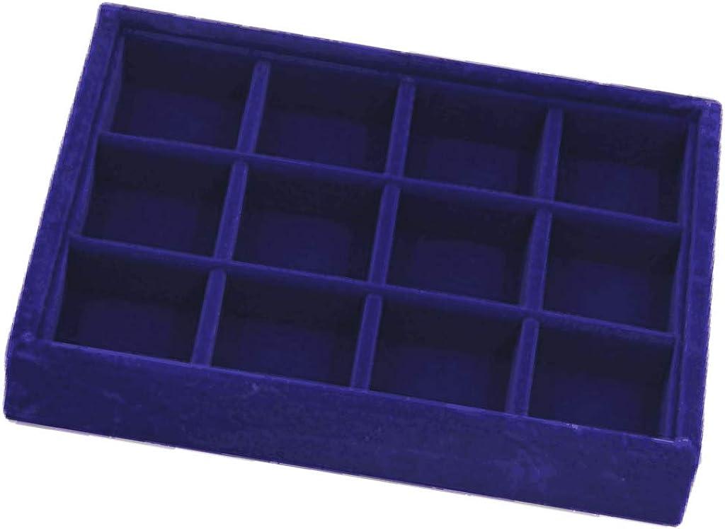 Blue views jewelry tray