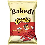 oven baked hot - Baked Cheetos Oven Baked Crunchy Flamin' Hot Cheese Flavored Snacks, 7.625 oz Bag