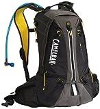 Camelbak Octane 18X Hydration Pack (100-Ounce/1198 Cubic-Inch/823 Cubic-Inch, Black/Lemon Chrome), Outdoor Stuffs
