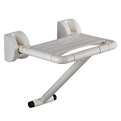 HYRL Silla de Pared con Patas Plegables Ducha de Pared ...